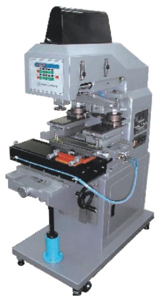 中型雙色墨杯式移印機+橫向左右推送裝置-HA-620PR