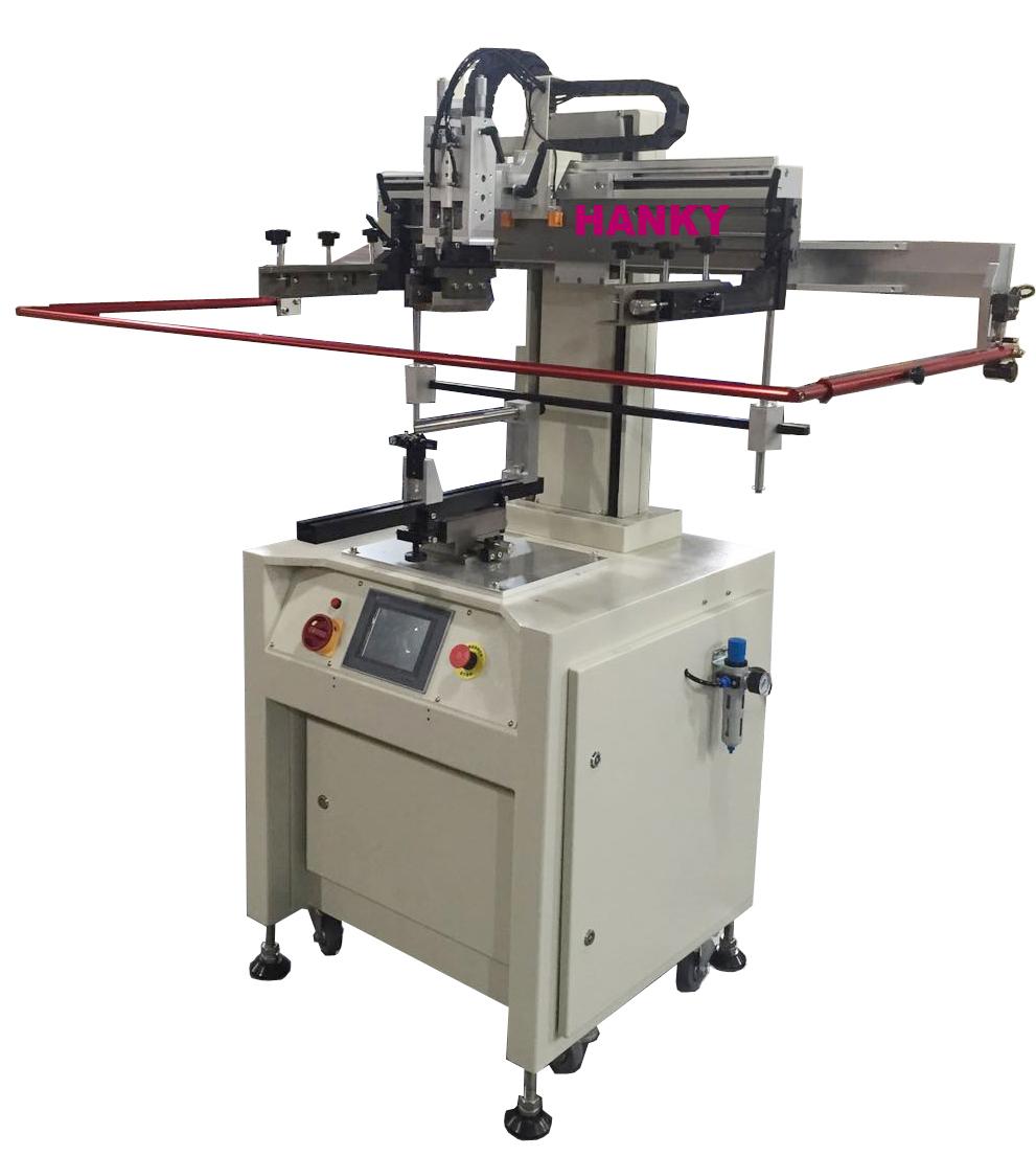 全電式曲面網印機 TP-450CAS