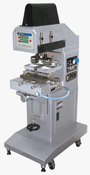 小型雙色墨盤式移印機+左右推送裝置-HA-125TARI