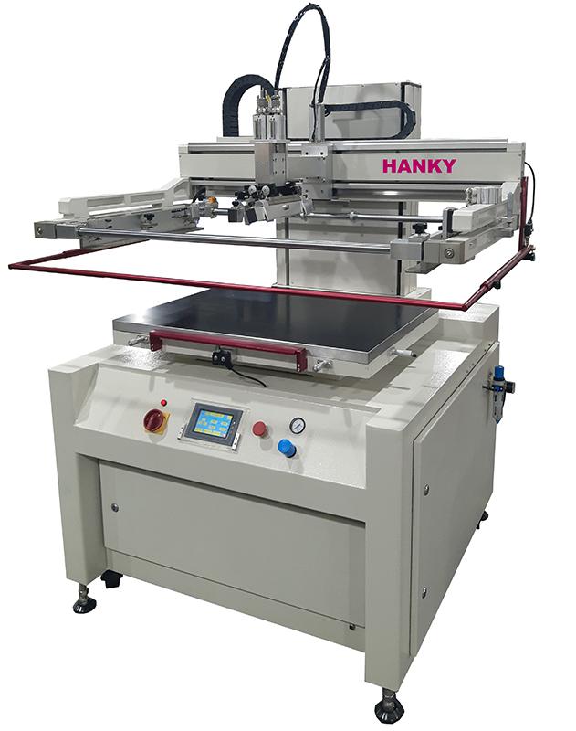 全電式平面網印機 TP-800S