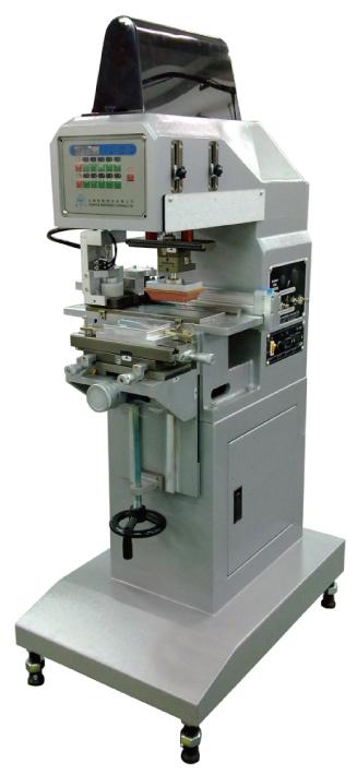 小型單色橫向墨杯式移印機-HA-100PH
