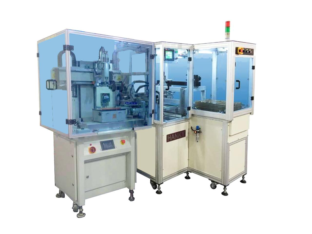 全自動上下料網印機 CL-850LD