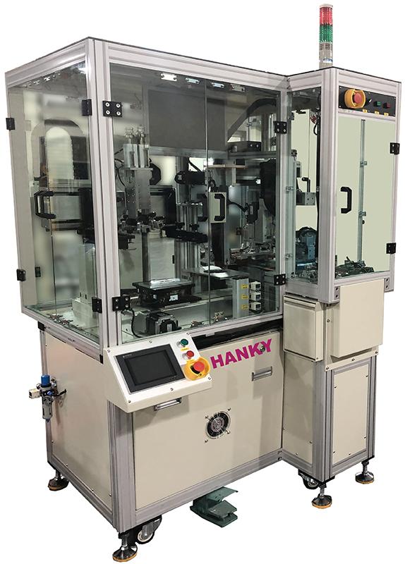 全自動表蓋專用網印機 CL-1000LD-CCD